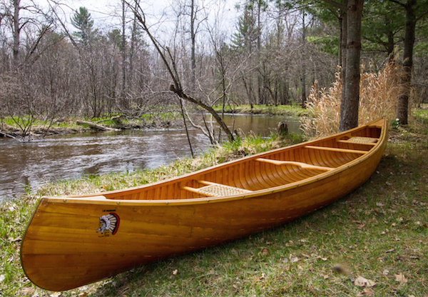 2014 Grand Prize Canoe